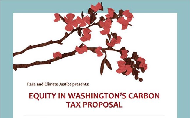Equity in Washington's Carbon Tax Proposal @ King Street Center | Seattle | Washington | United States