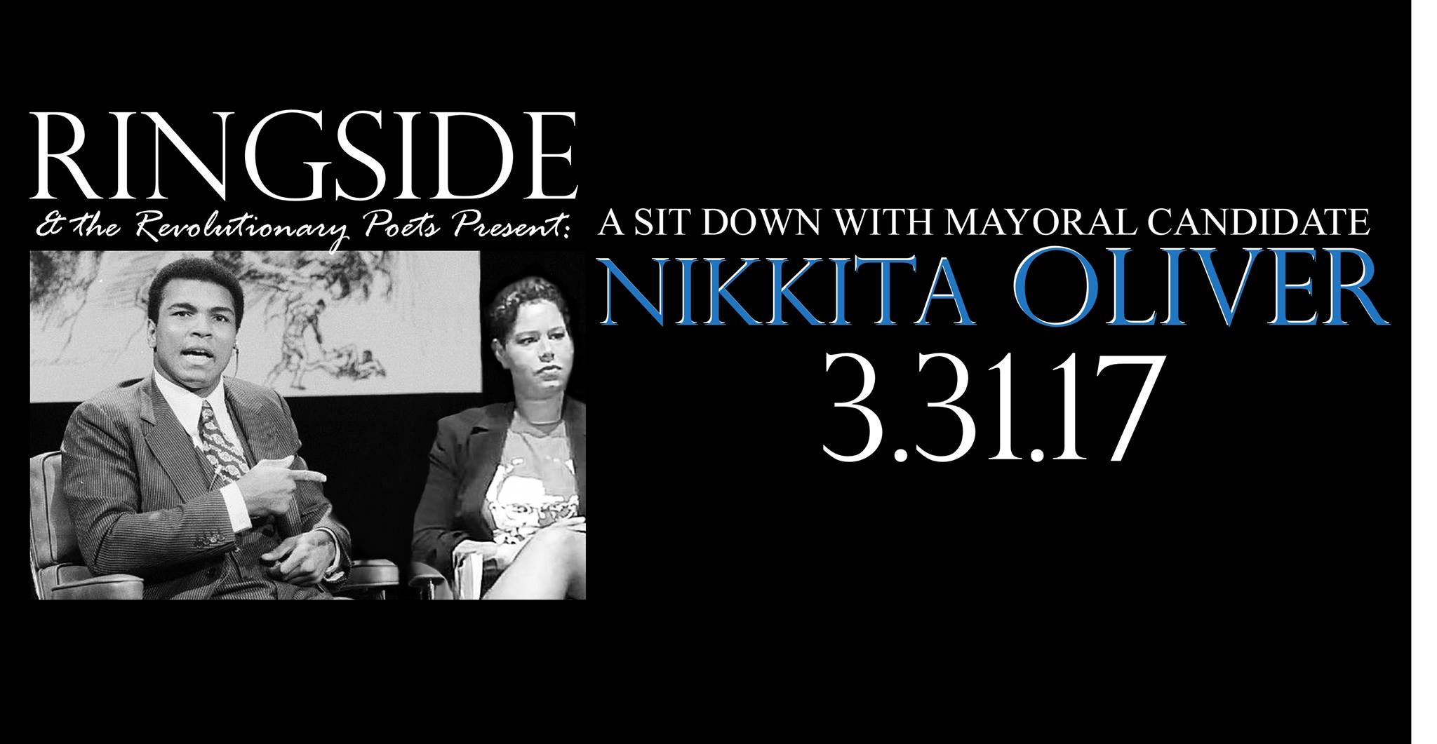 Ringside: A Sit Down w/Mayoral Candidate Nikkita Oliver @ Red Lounge | Seattle | Washington | United States