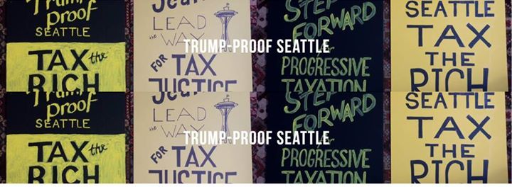 Pack City Hall: First Hearing on Seattle Progressive Income Tax @ Seattle City Hall   Seattle   Washington   United States
