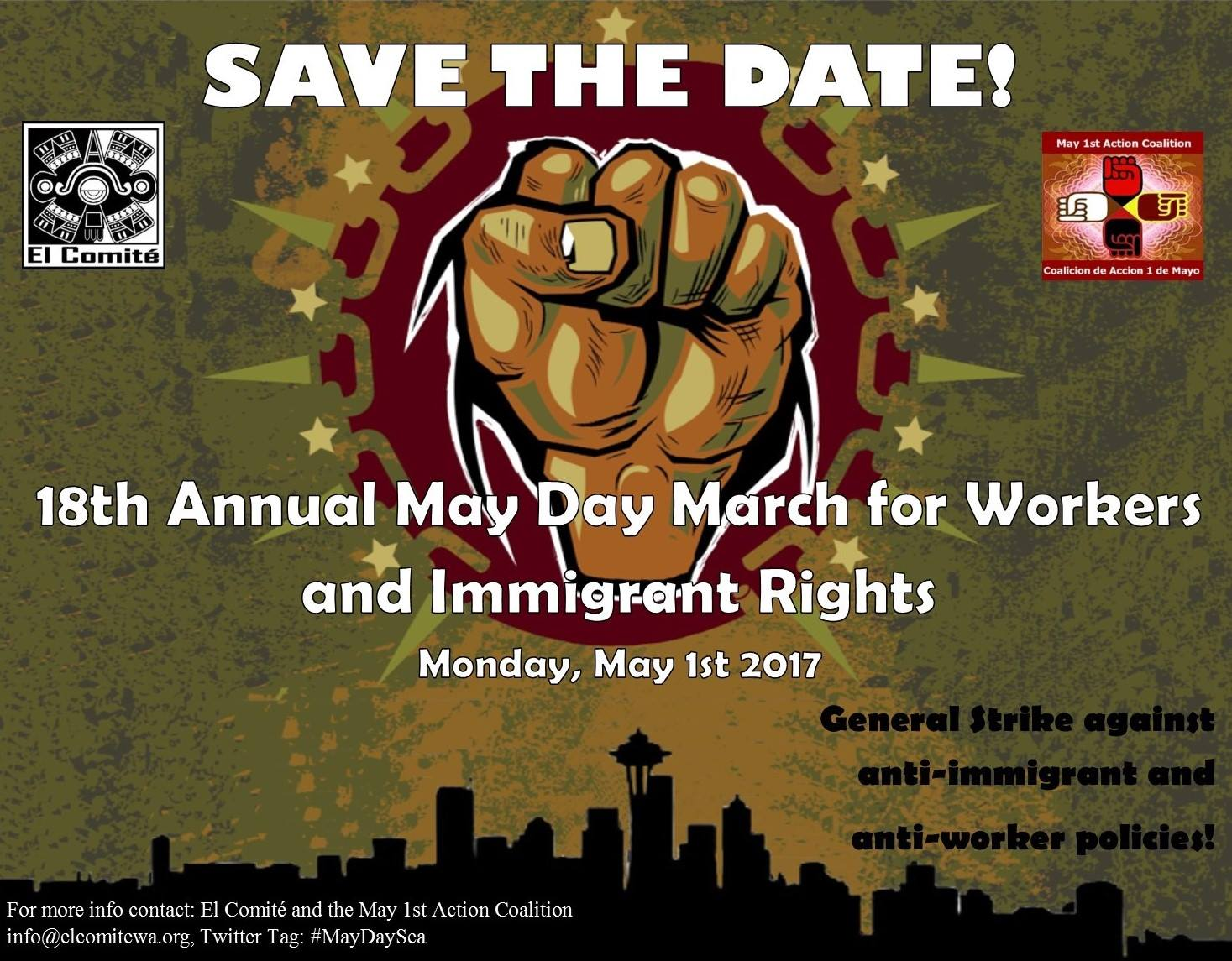 Climate Justice Contingent Pre-Rally for May Day Seattle @ Judkins Skate Park | Seattle | Washington | United States