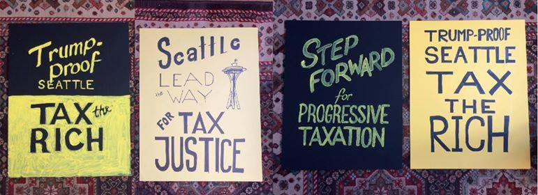 Let's Pack City Hall: Resolution for a Progressive Income Tax! @ Seattle City Hall | Seattle | Washington | United States
