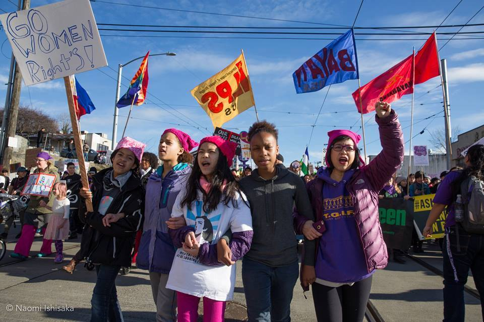 May Day: Join the Womxn of Color & Families Marching Contingent @ McGraw Square | Seattle | Washington | United States
