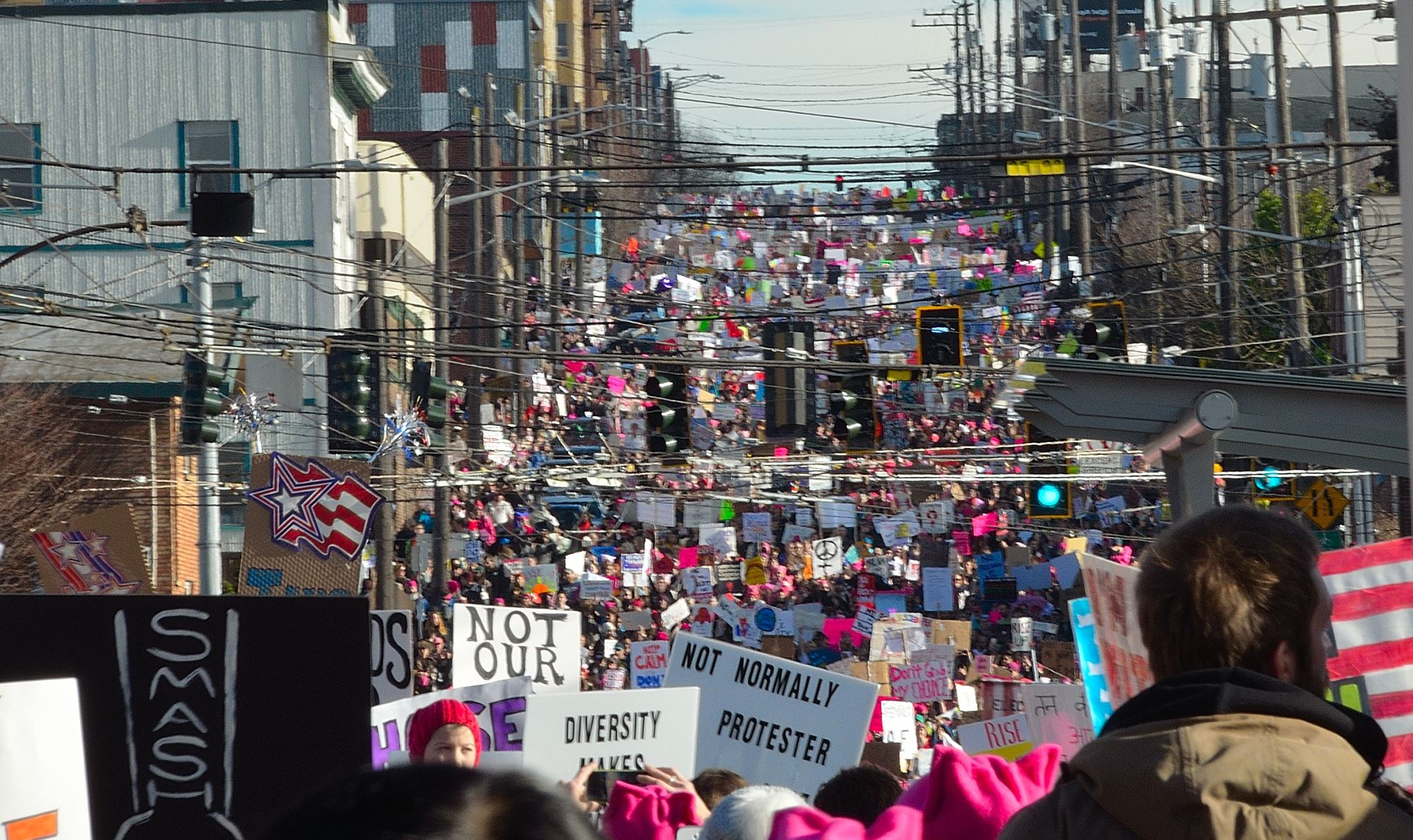 Seattle Women's March 2.0 - 2018 @ Cal Anderson Park | Seattle | Washington | United States