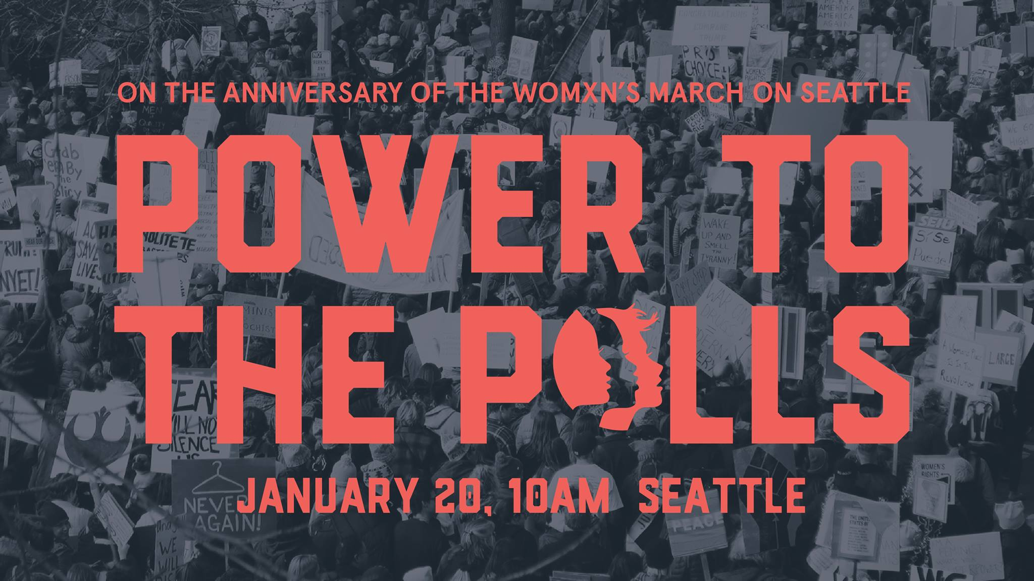 Power to the Polls: Anniversary of the Womxn's March on Seattle @ Cal Anderson Park | Seattle | Washington | United States