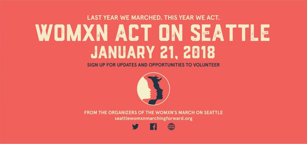 Womxn Act on Seattle @ multiple venues | Seattle | Washington | United States