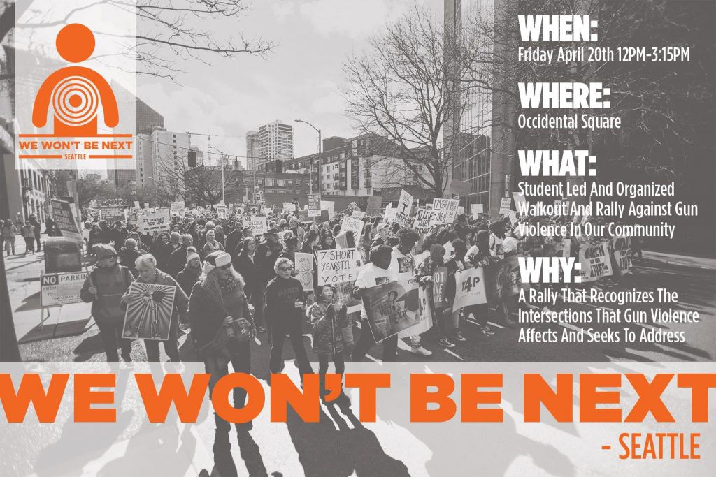 We Won't Be Next - Seattle @ Occidental Square | Seattle | Washington | United States